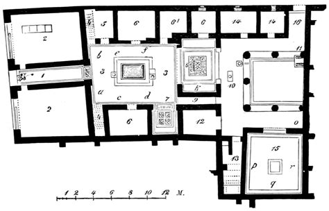 house of the tragic poet floor plan remarkable house of the tragic poet floor plan
