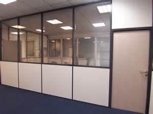cloison vitre cuisine cloisons vitres avec stores intgrs
