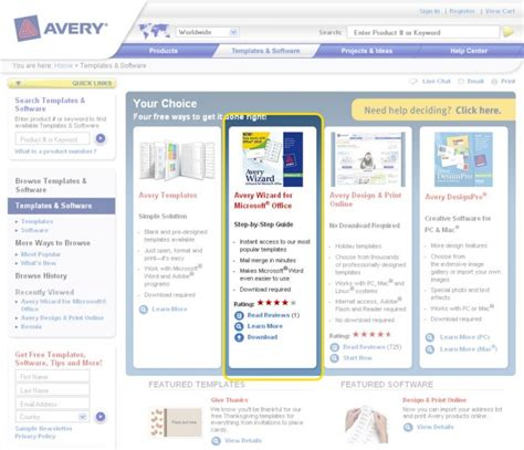 avery templates and software how to avery wizard software for microsoft office