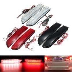 Rear Car Lights Explained 2x Car Led Light Parking Brake Rear Bumper Reflector
