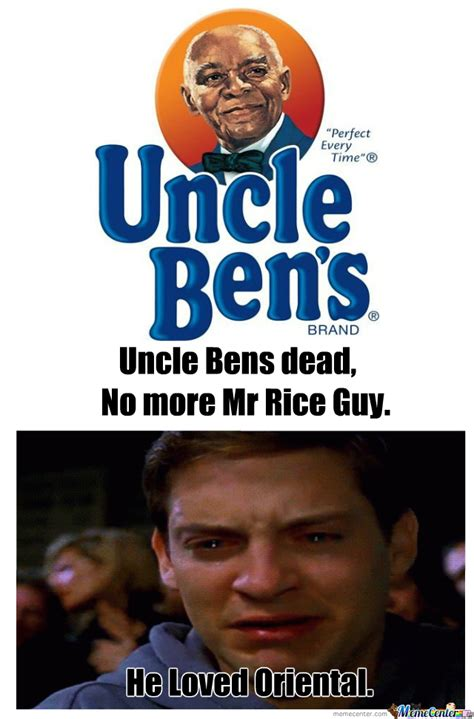 Uncle Meme - uncle ben was an asian food lover by thatguycalledalex meme center