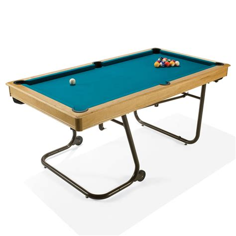 The Space Saving Billiards Table Hammacher Schlemmer Pool Table Space