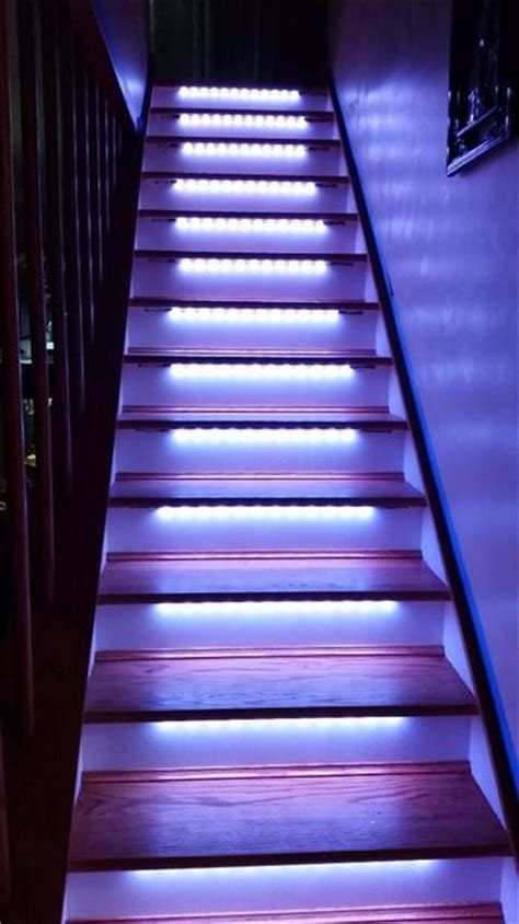 Led Light Strips For Stairs Led Light Design Dramatic Look Led Stair Lighting Deck