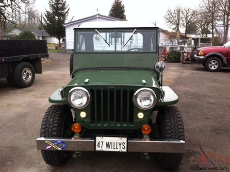 1947 Willys Jeep For Sale Willys Jeep 1947 Cj2a