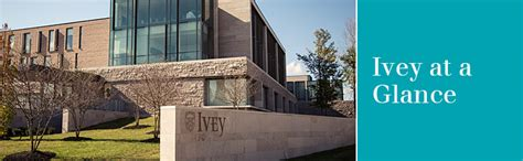 Ivey Business School Mba Fees by Ivey Hba At A Glance Ivey Business School