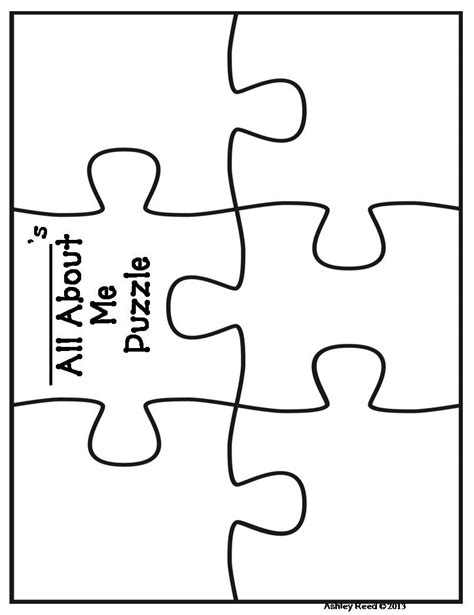 single puzzle template puzzle pieces puzzles and printable puzzles on