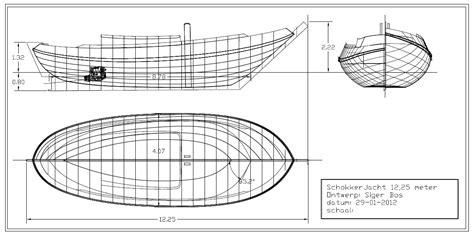 platbodem schokker nieuwbouw schokker 12 25 m dutch classic boat design