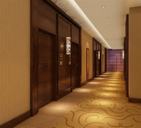 hotel corridor interior decoration 3d house free 3d