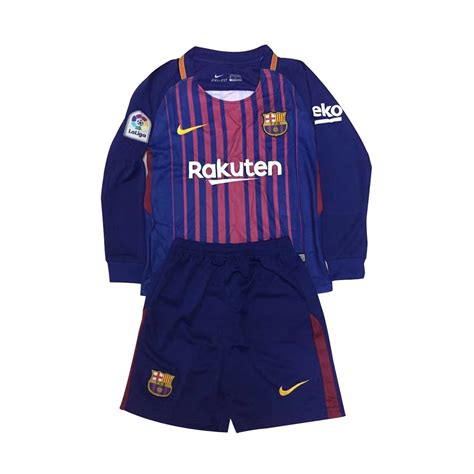 Jersey Barca Home Ls barcelona 2017 18 home soccer jersey football kits ls cheap football shirts store