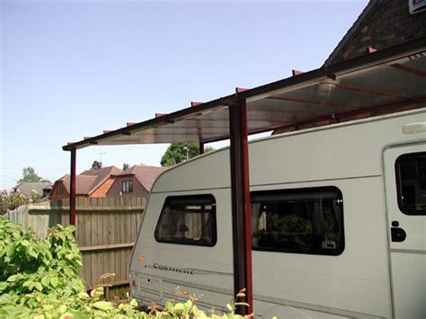 carport caravan caravan carport 3 5m projection the canopy shop