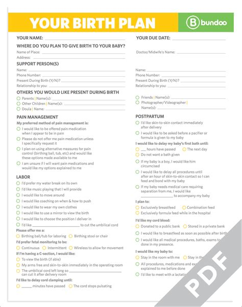 birth plan for c section template here s a printable birth plan that your doctor will be