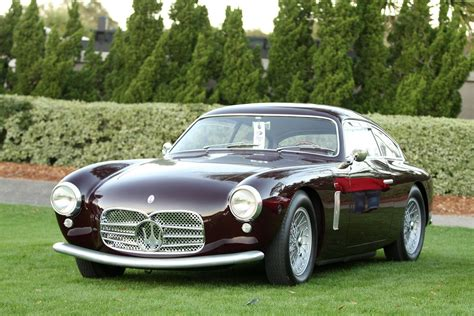 Maserati Vintage 1955 Maserati A6g 2000 Car Vehicle Classic Retro Sport