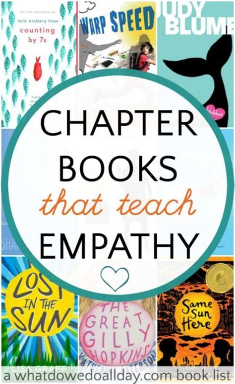 picture books that teach empathy chapter books that teach empathy twinzy toys