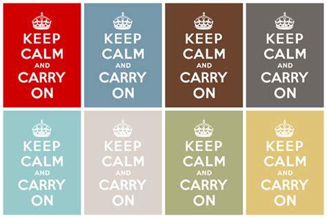 Printable Keep Calm And Carry On