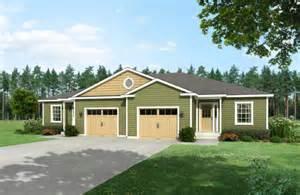 duplex floor plans with double garage