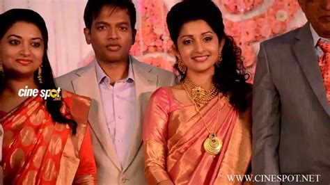 tamil actress meera jasmine family photo meera jasmine marriage reception video youtube