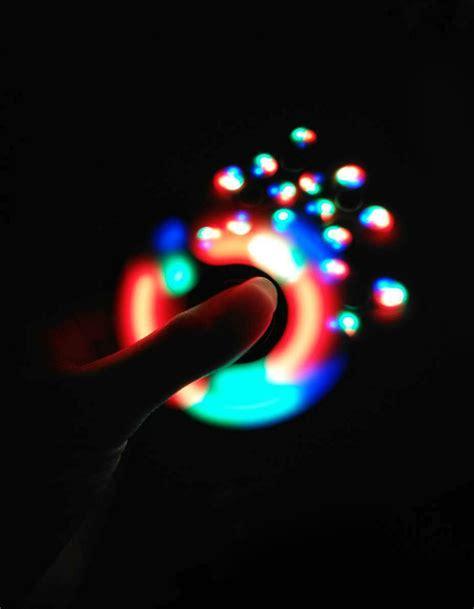 Fidget Spinner Led Spinner Led anti stress color changing led fidget finger spinner