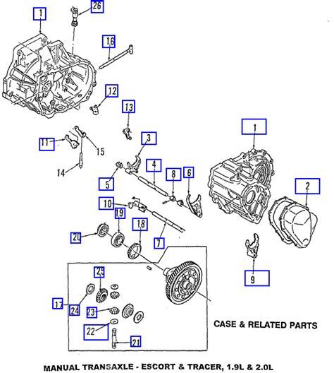 car repair manuals download 1986 ford escort transmission control service manual 1999 ford escort transfer case repair manual alldatadiy com 2001 ford escort