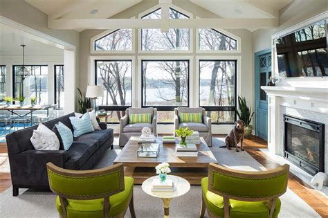 lakeside home decor stunning lakeside home with bright and airy interiors