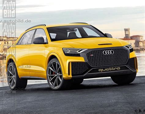 Audi Q8 Black by Yellow Black Rsq8 If The New Audi Q8 Is Not