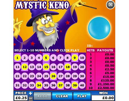 Play Instant Win Games Online Free - play quot mystic keno quot and get 163 20 free king jackpot instant win games online