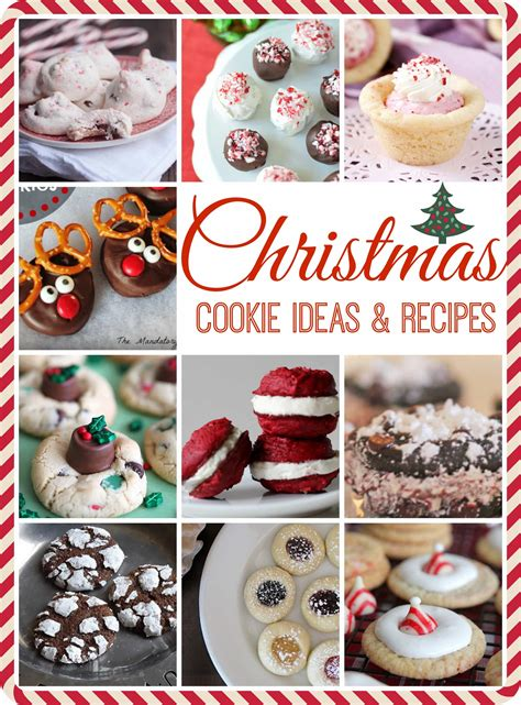 christmas cookie ideas recipes pinkwhen