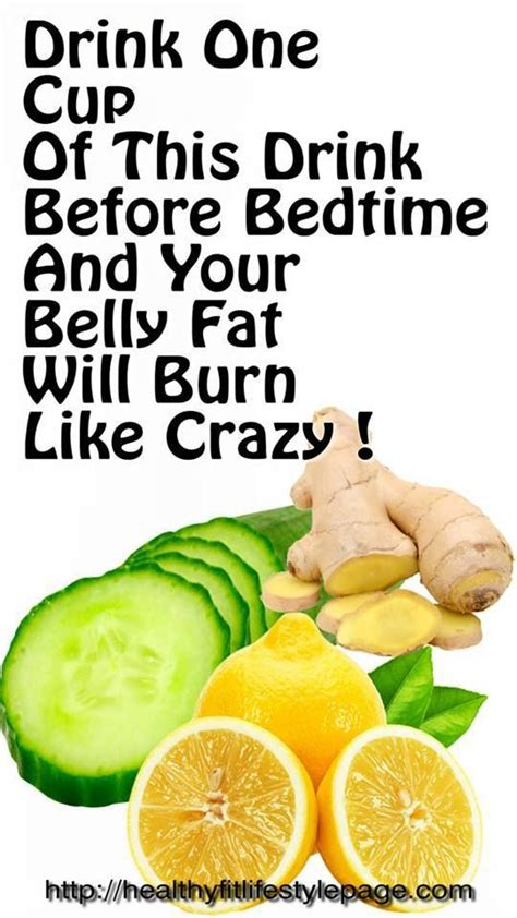 Bedtime Detox And Burn by Drink One Cup Of This Drink Before Bedtime And Your Belly