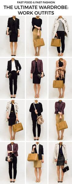 work clothes on pinterest capsule wardrobe nordstrom 9 pieces 10 outfits french minimalist style