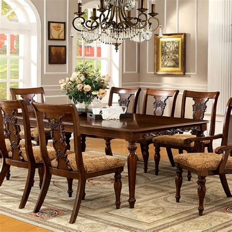 brussels formal dining room 7 piece furniture set seymour 7 piece formal dining room set by furniture of