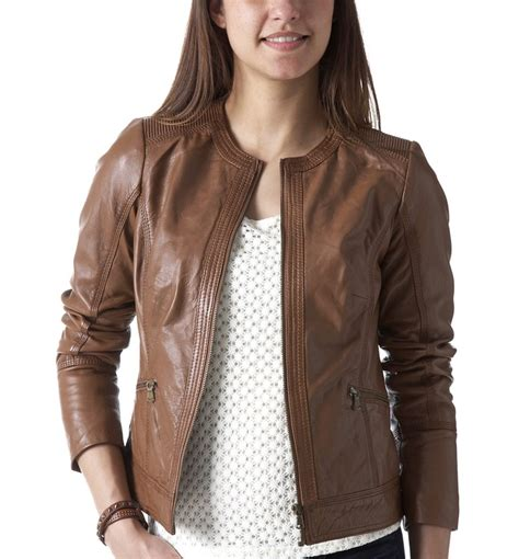 light brown leather jacket womens brown jackets for womens jacket to