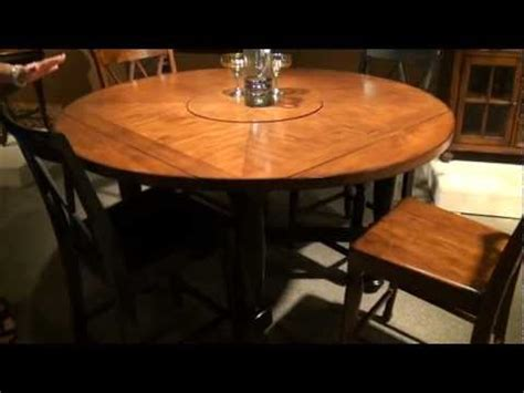 Counter Height Dining Room Tables Delcastle Square Round Convertible Height Dining Table By