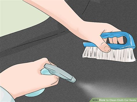 how to clean cloth seats in car 3 ways to clean cloth car seats wikihow