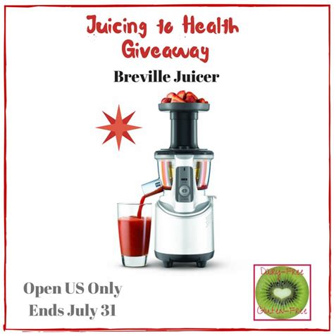Healthy Giveaway - juicing to health giveaway