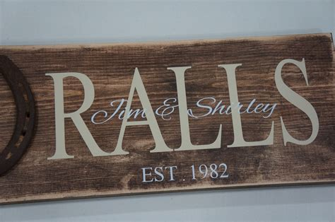 Handmade Sign - handmade personalized wood signs the crafting
