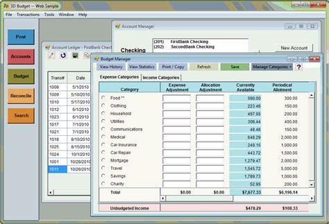 free personal finance software for home budgets saving