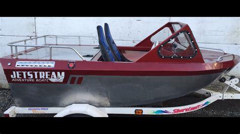 mini jet boat videos jetstream mini jet boat dinghy test run youtube