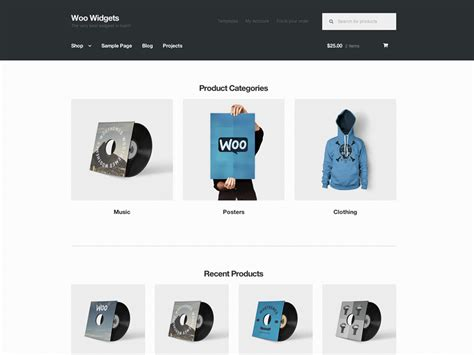 25 best free woocommerce wordpress themes 2018