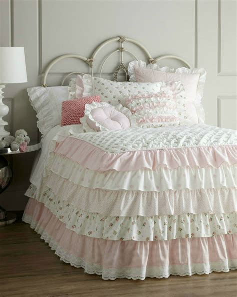 shabby chic ruffle bedding 20 best multi colored bedding sets decoholic