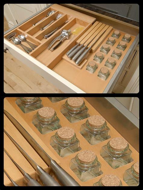 Customizable Spice Rack by Woodways Custom Built In Spice Rack Spicerack Built In
