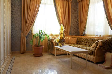 contemporary curtains for living room what is the best design idea for brown curtains with blue
