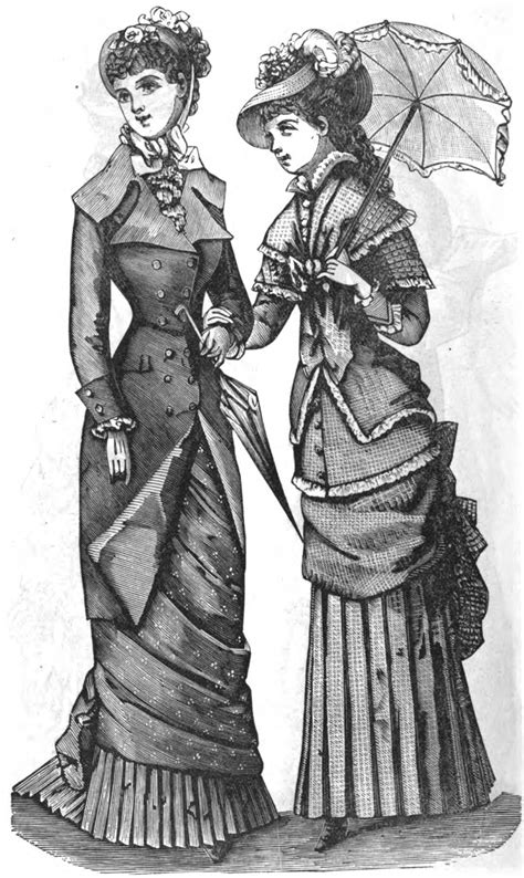 19th century american womens style fashion