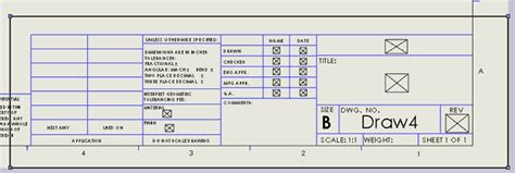 solidworks tutorial title block pin the title block drawing including close in views of