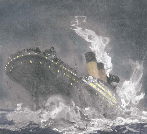 pictures of the titanic sinking the sinking of the titanic the casemate blog