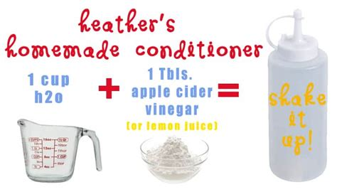 Handmade Conditioner - the best shoo recipe one thing by jillee