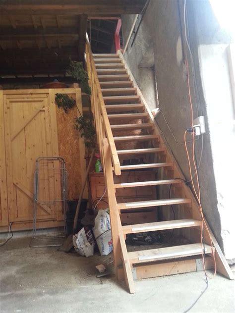 Scheune Treppe by Treppe In Der Scheune Selber Gebaut Semiautark