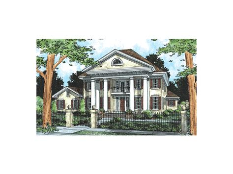 southern plantation house plans orlando plantation southern home plan 130d 0081 house