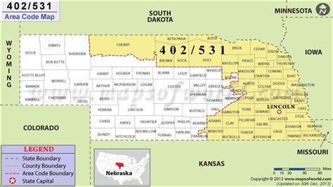 Area Code 402 Lookup 402 Area Code Map Where Is 402 Area Code In Nebraska