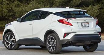 Toyota Suv Models 2018 Toyota C Hr Suv Targets A Younger Audience Consumer