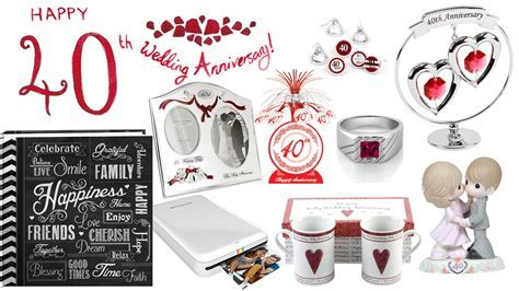 What are best 40th Wedding Anniversary Gift Ideas?