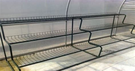 metal greenhouse benches deciding which bench is best for your greenhouse garden greenhouse